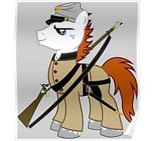 MLP Civil war soldier Poster