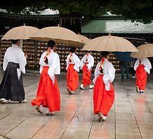 Meiji Shrine Tokyo Japan by redashton
