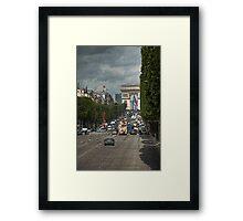Champs de Ellesse Framed Print