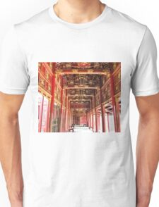 Red Asian Palace Unisex T-Shirt