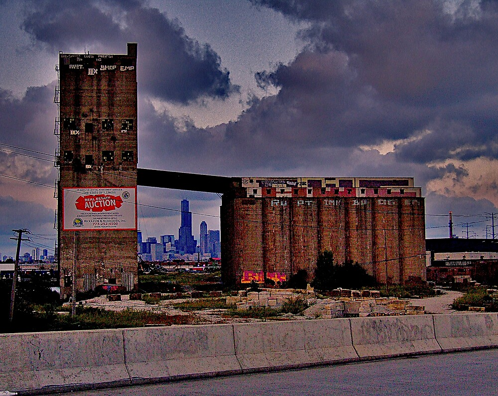 """""""FLOORS AND FEET"""" by Sears Tower by martin venit"""