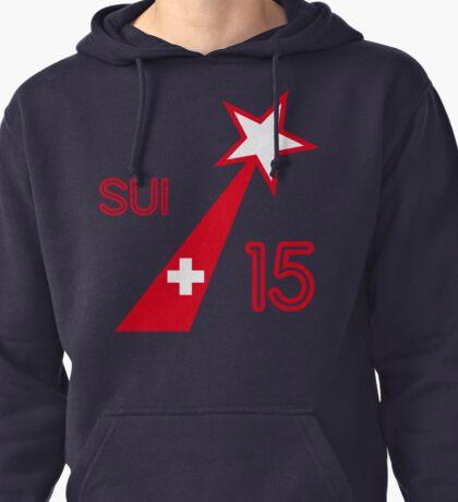 SWITZERLAND STAR  Pullover Hoodie