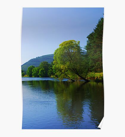 Tweed Reflections Poster