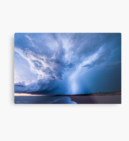 Bolt from the Blue Metal Print