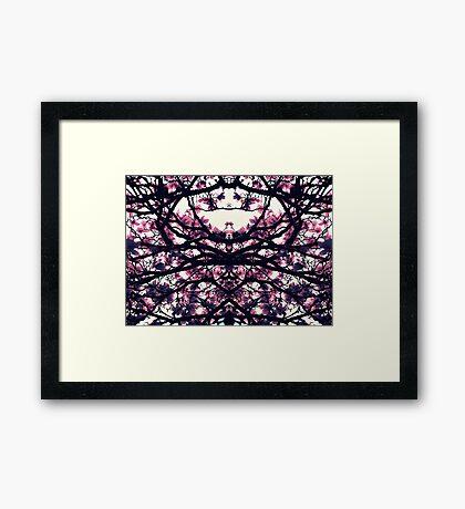 Floral Network 1 Framed Print