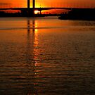 Bolte  Bridge Sunset by John Barratt