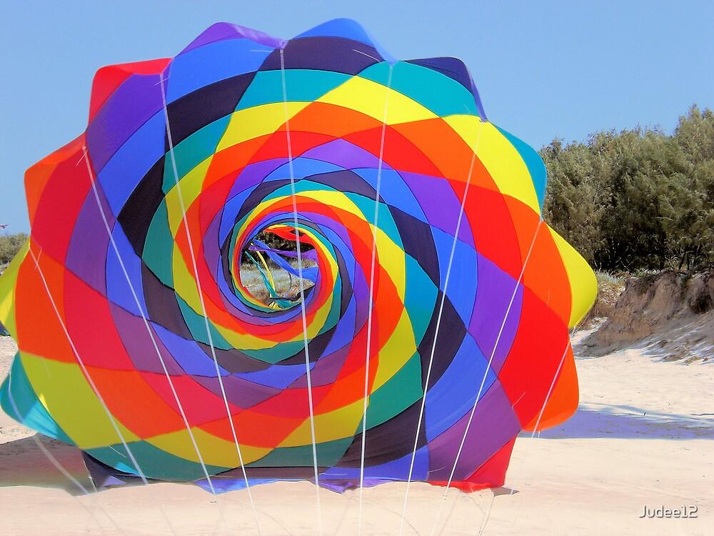 Rainbow Kite by Judee12