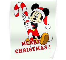 MICKY MERRY CHRISTMAS Poster