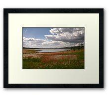 Lake Wivenhoe, Queensland Framed Print