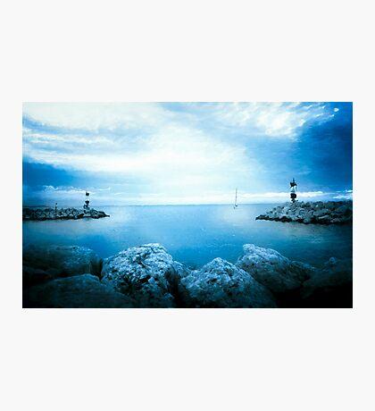 Last Light Approach Photographic Print