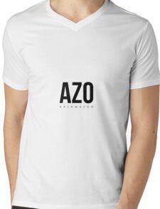 AZO - Kalamazoo Aiport Code Mens V-Neck T-Shirt