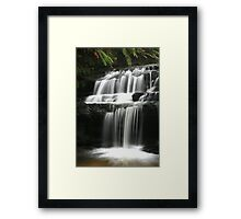Leura Cascades - Serenity, Blue Mountains, NSW Framed Print