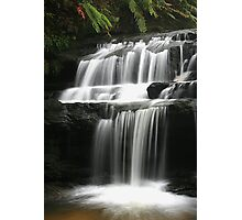 Leura Cascades - Serenity, Blue Mountains, NSW Photographic Print