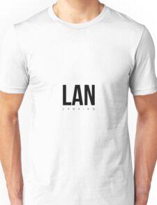 LAN - Lansing Aiport Code Unisex T-Shirt