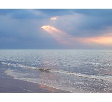 Preamble to sunset Photographic Print