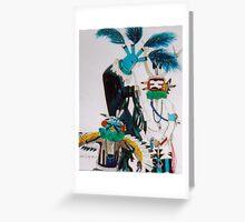 Kachinas Greeting Card