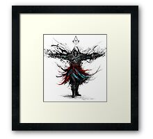 assassins of the caribbean sea Framed Print
