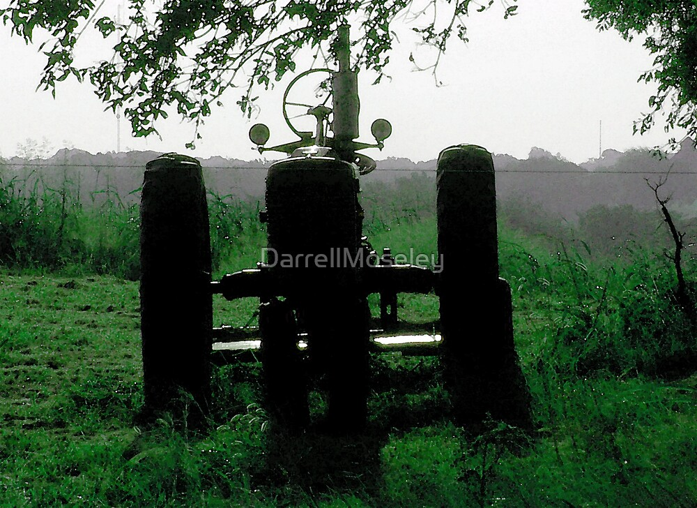 OUTLINE OF A TRACTOR by DarrellMoseley