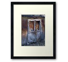 Window to the other world Framed Print