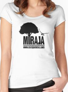MIRAJA MUSIC SHWAG Women's Fitted Scoop T-Shirt