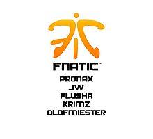 CS:GO Fnatic Photographic Print