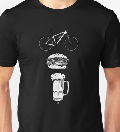 Bike, Burger & Beer HT Unisex T-Shirt