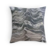 worn stone Throw Pillow