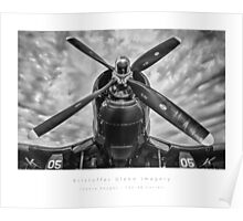 Chance Vought F4U Corsair Poster