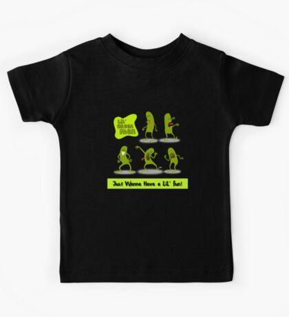 LiL' Green Men Just Wanna Have A LiL' Fun! Kids Tee