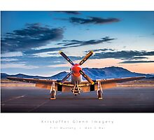 "P-51 Mustang ""Man-O-War"" by KristofferGlenn"
