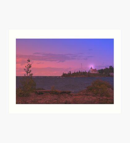 Superior Lighthouse. Art Print