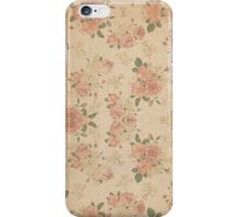 Vintage Lily Ten iPhone Case/Skin