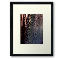 A screen? Framed Print