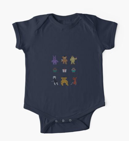 Five Nights At Freddy's Arcade One Piece - Short Sleeve