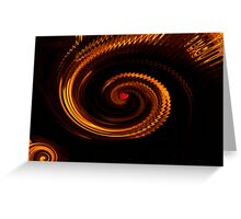 Love in a Whirlwind Abstract Greeting Card