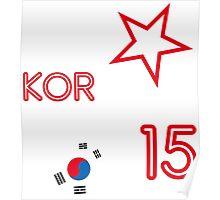 SOUTH KOREA STAR Poster