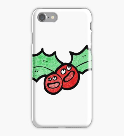 holly cartoon character iPhone Case/Skin