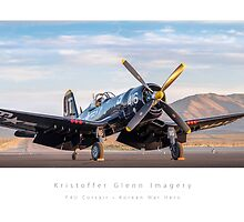 "F4U Corsair ""Korean War Hero"" by KristofferGlenn"