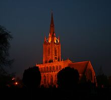St Andrew's by Night #1 by Dave Pearson