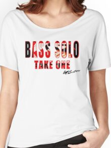 BASS SOLO TAKE ONE K E A  Women's Relaxed Fit T-Shirt