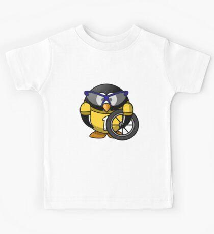 The Penguin Racer Kids Tee