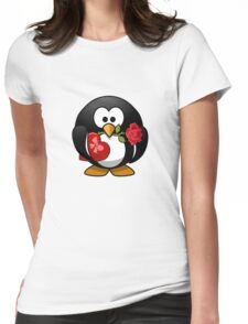 The Penguin Lover Womens Fitted T-Shirt