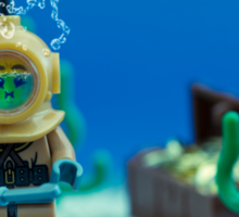 Lego Deep Sea Diver Sticker