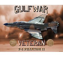 F-4 Phantom USAF Gulf War Veteran Photographic Print