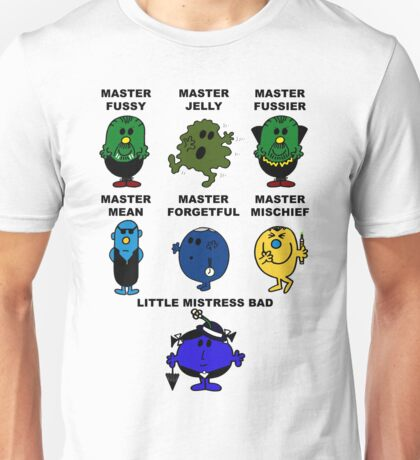 Dr. Who - The Master Men Unisex T-Shirt