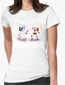 Redhead dances Womens Fitted T-Shirt
