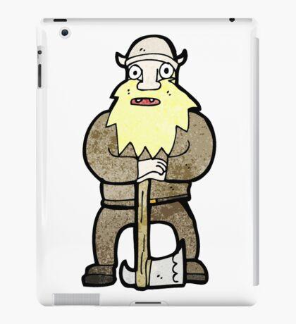 cartoon viking iPad Case/Skin