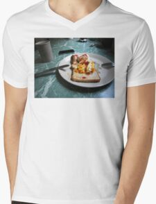Egg Mens V-Neck T-Shirt