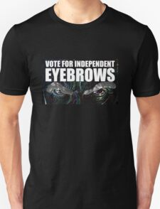 Doctor Who - Vote For Independent Eyebrows! T-Shirt