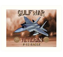F-15 Eagle Gulf War Veteran Art Print